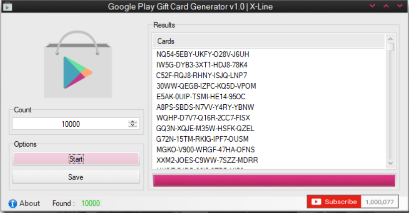 Google Play Working Gc Generator And Checker By X